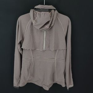 lululemon athletica Jackets & Coats - Lululemon Women's Striped Full Zip Jacket Sz 8